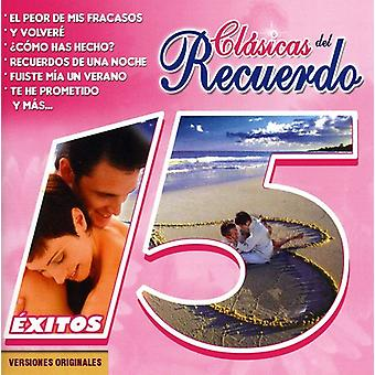 Grupo Lluvia/Angeles Negros - Clasicas Del Recuerdo (15 Exitos) [CD] USA import