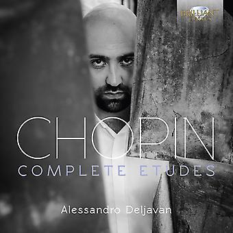 Alessandro Deljavan - Chopin: Komplett Etudes Op.10 & 25 [CD] USA import
