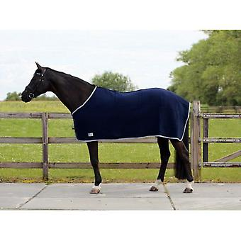 QHP Blue wool blanket (Horses , Horse riding equipment , Bed covers , Midseason)