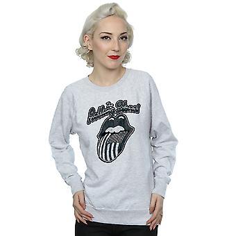 Rolling Stones Women's Monochrome American Tongue Sweatshirt
