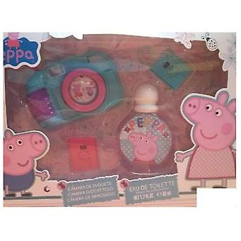 Cartoons Peppa Pig Lot 2 Pieces (Kindesalter , Kits , Kosmetik , Kölnisch Wasser)