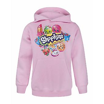 Shopkins Childrens/Girls Official Once You Shop Character Hoodie