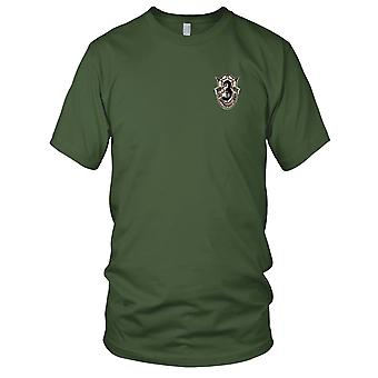 US Army - 3rd Special Forces Group Crest Desert Embroidered Patch - Mens T Shirt
