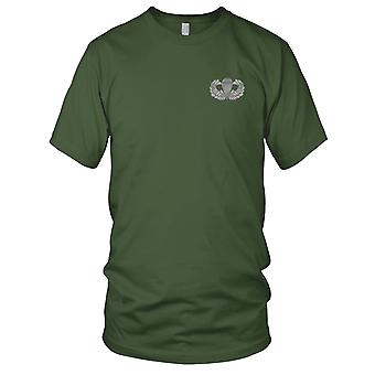US Army - Airborne Basic Jump Wings Large Back Embroidered Patch - Kids T Shirt