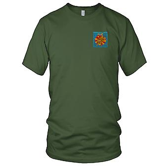 ARVN Airborth 9th Parachute - Military Insignia Vietnam War Embroidered Patch - Ladies T Shirt