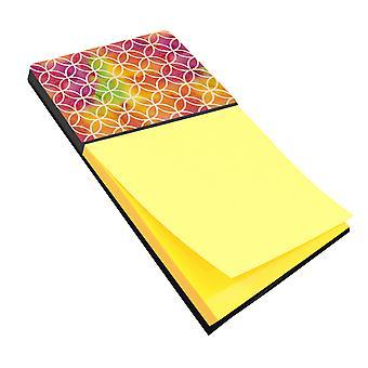 قوس قزح ألوان مائية الدوائر الهندسية Sticky Note حامل