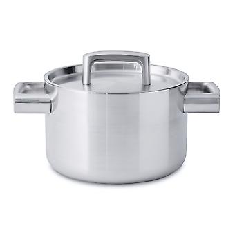 BergHOFF sauce pan with lid, 5-ply 18cm