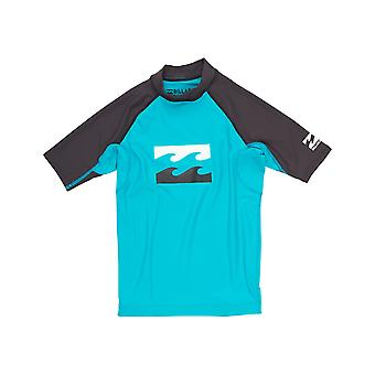 Billabong Team Waves Short Sleeve Rash Vest