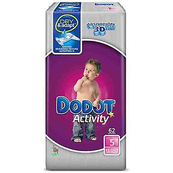 Dodot DiapersActivity T-5 (13-18 Kg) 62 Units (Childhood , Diaper and changers , Diapers)
