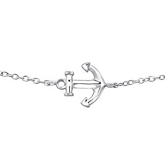 Anchor - 925 Sterling Silver Chain Bracelets - W27577x