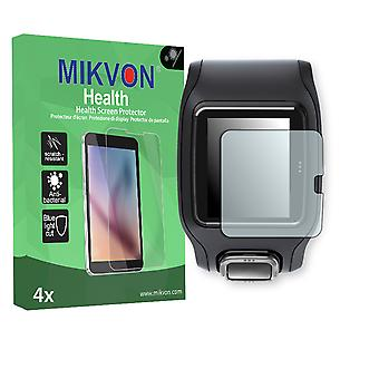 TomTom Runner GPS Watch Screen Protector - Mikvon Health (Retail Package with accessories)