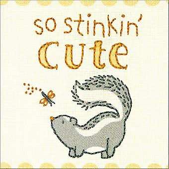 Cathy Heck So Stinkin Cute Embroidery Kit-5
