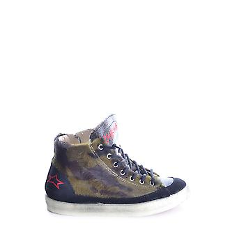 Ishikawa ladies MCBI156013O multicolour fabric Hi Top sneakers