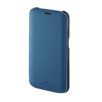 Tom Tailor Booklet New Basic Voor Samsung Galaxy S6 Edge Skyblue