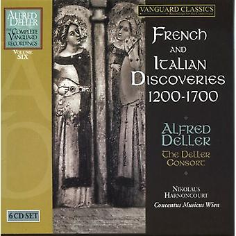 Alfred Deller - French and Italian Discoveries, 1200-1700 [CD] USA import