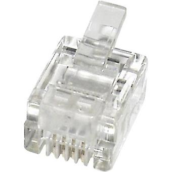 N/A Plug, straight MPL64 Clear econ connect