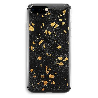 iPhone 7 Plus Transparent Case - Terrazzo N°7