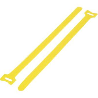 Hook-and-loop cable tie for bundling Hook and loop pad (L x W) 125 mm x 12 mm