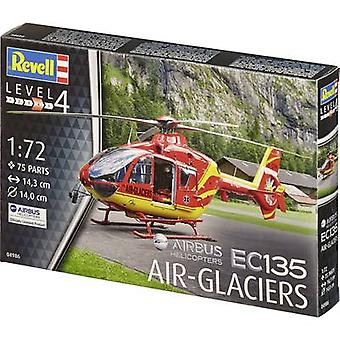 Revell 04986 Airbus EC-135 Air-Glaciers Helicopter assembly kit 1:72