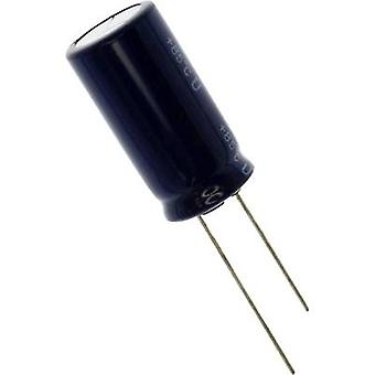 Electrolytic capacitor Radial lead 7.5 mm 330 µF