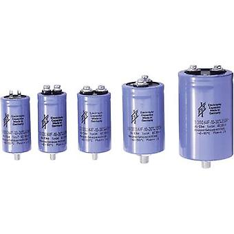 Electrolytic capacitor Screw-type 47000 µF 63 V