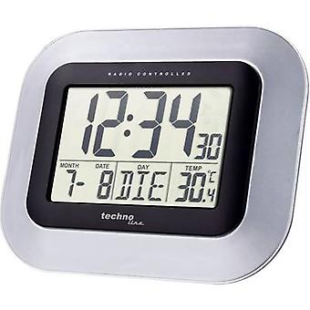 Radio Wall clock Techno Line WS 8005 228 mm x 180 mm x 28 mm