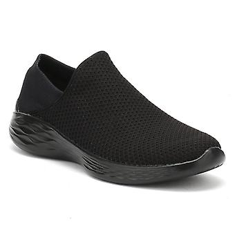 Skechers Womens Black You Trainers