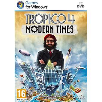 Tropico 4 moderna tider (PC DVD)