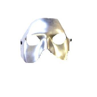 Halbe Gesichtsmaske Silber Metallic Eye (1)