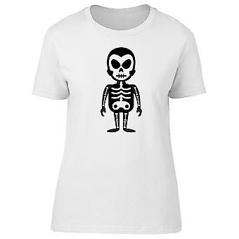 Man In Skeleton Costume Tee Women's -Image by Shutterstock