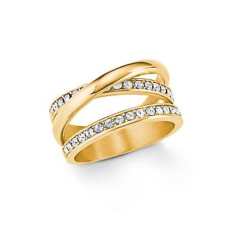 s.Oliver jewel ladies ring stainless steel IP GOLD 202107
