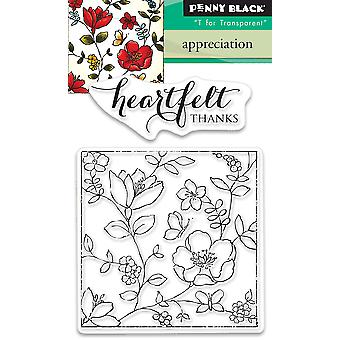 Penny Black Clear Stamps-Appreciation