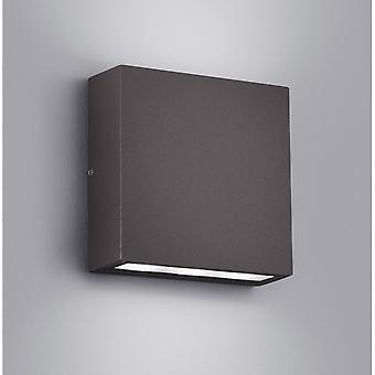 Трио, освещение Темзе современные антрацит Diecast алюминия настенный светильник