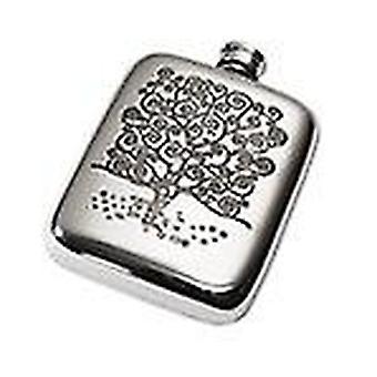 4oz Tree of Life Pocket Flask*