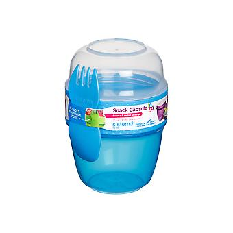 Sistema Snack Capsule to Go, Blue