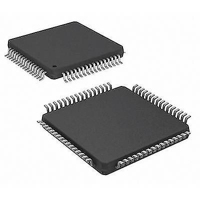 Embedded microcontroller PIC24FJ64GA306-I/PT TQFP 64 (10x10) Microchip Technology 16-Bit 32 MHz I/O number 53