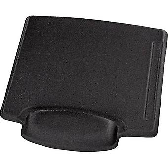 Mouse pad with wrist rest Hama 00054782 Ergonomic Black