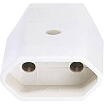 Bachmann 900.005 Euro-Steckverbinder Kunststoff 230 V weiß IP20