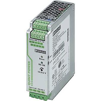 Phoenix Contact QUINT-PS/3AC/24DC/5 Rail mounted PSU (DIN) 24 Vdc 5 A 120 W 1 x