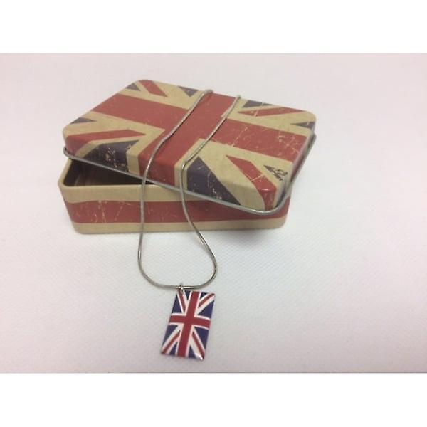 Union Jack Wear Union Jack Necklace In Gift Box