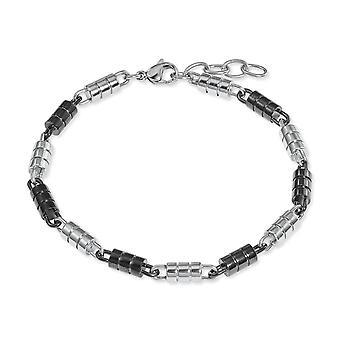 s.Oliver jewel mens bracelet stainless steel bicolor 2022620