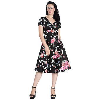 Hell Bunny Collarette 50's Dress M