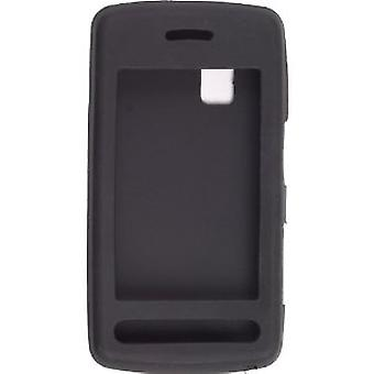 Wireless Solutions funda de Gel de silicona para LG CU915, CU920 (negro)