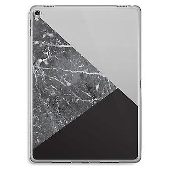 iPad Pro 9,7 inch transparant Case (Soft) - marmer combinatie