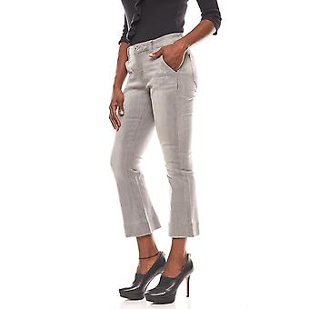 B.C.. best connections shortened ladies Flared Jeans Grau