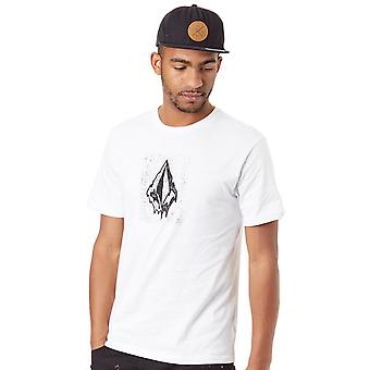 Volcom White Drippin Out T-Shirt