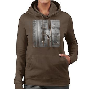 TV volte Alfred Hitchcock i Rovers ritorno Hooded Sweatshirt 1964 femminile