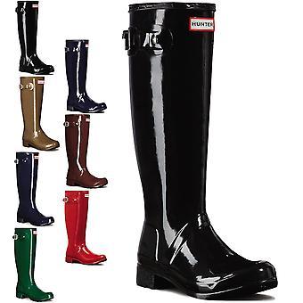 Womens Hunter Original Tour Gloss Winter Snow Waterproof Wellies Boots