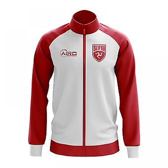 Isle Of Man Concept Football Track Jacket (White)
