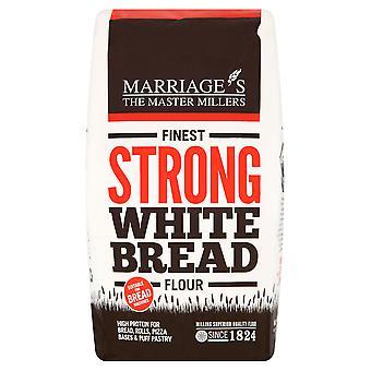 Feinste starke Weißmehl Ehen